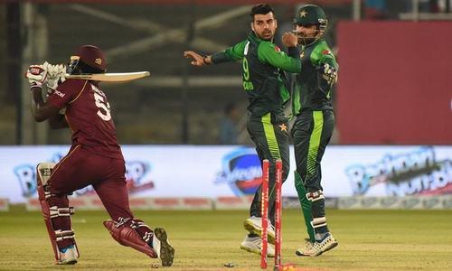 Rain delays first West Indies-Pakistan T20