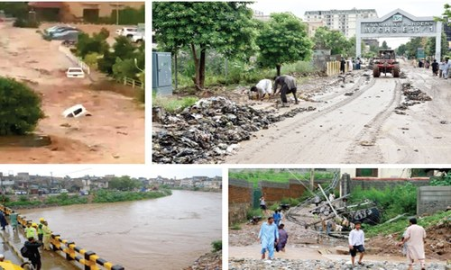 Two die as rains cause urban flooding in capital