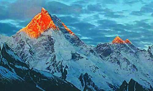 Editorial: Pakistan's mountains have a commercial value that remains untapped