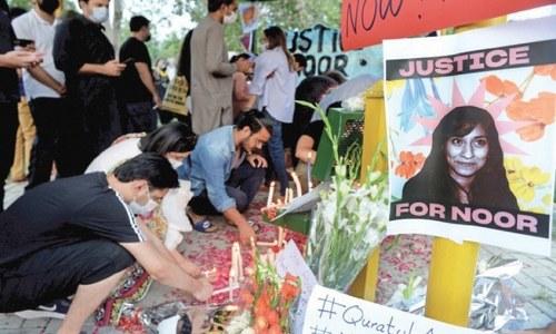 Senate body satisfied with police's handling of Noor murder case