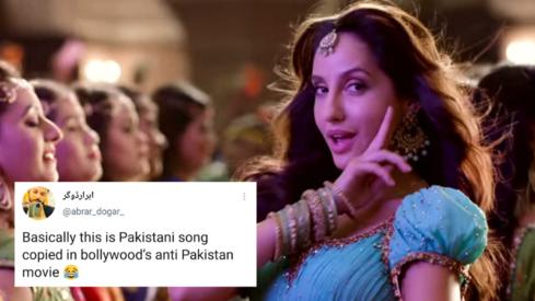 Twitter users incredulous as 'anti-Pakistan' film Bhuj recreates Noor Jehan's 'Zaalima Coca Cola'
