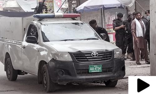 Policeman martyred in blast in Peshawar's Karkhano Market