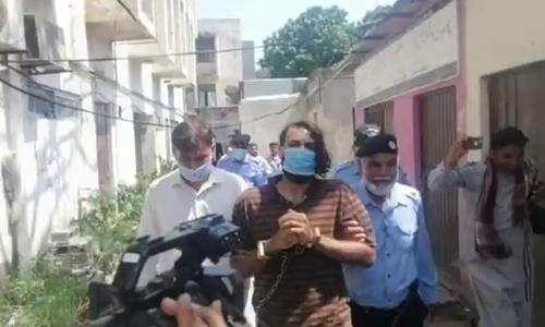 نورمقدم قتل: پنجاب فرانزک لیب میں ظاہر جعفر کا پولی گراف ٹیسٹ