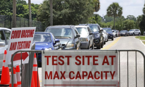 US state of Florida reports highest daily caseload since start of pandemic