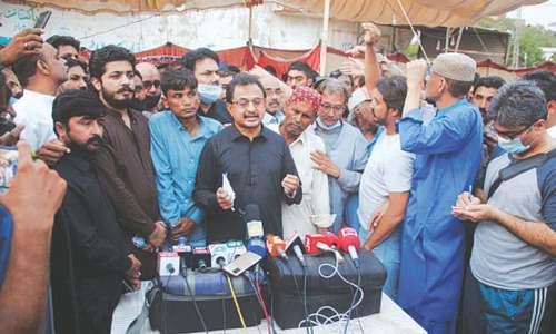 Lockdown aimed at disrupting economic activities in Karachi, says Haleem Adil Sheikh