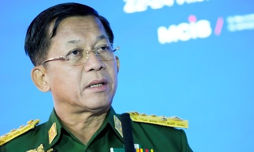 Myanmar leader goes back on pledge, says polls now in 2023