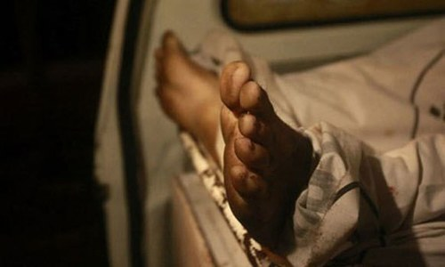 Man, son killed over family dispute in Swabi
