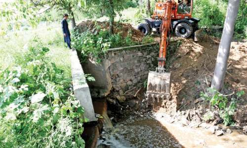 CDA allowed narrowing of E-11 drain in Islamabad, document reveals