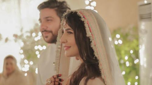 Inside actor Areeba Habib's baat pakki ceremony