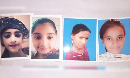 Search continues on second day for four girls gone missing in Lahore