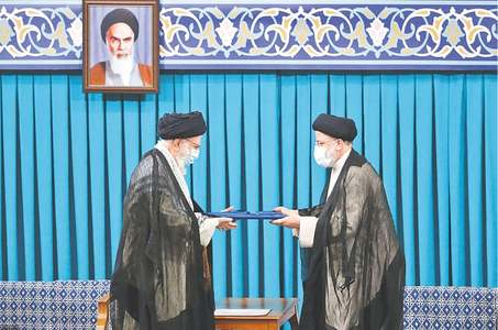 Ultraconservative Raisi takes oath as Iran's president