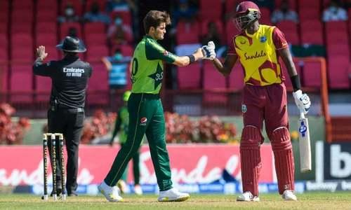 Pakistan win rain-ruined T20 series against West Indies