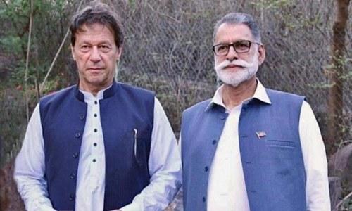 عمران خان نے آزاد کشمیر کے وزیراعظم کے لیے عبدالقیوم نیازی کو نامزد کردیا