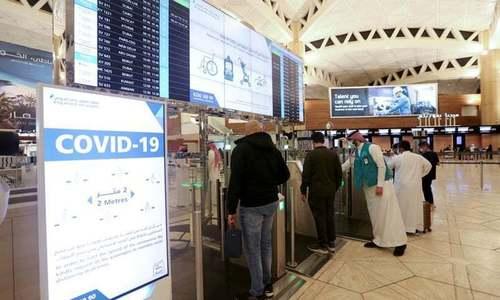 چینی ویکسین لگوانے والے غیر ملکیوں کو سعودی عرب میں داخلے کی مشروط اجازت