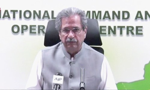 Students to get 5pc extra marks in compulsory subjects : Shafqat Mahmood