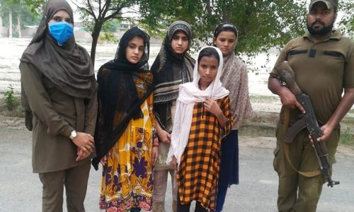 Kidnapped girls recovered from Sahiwal