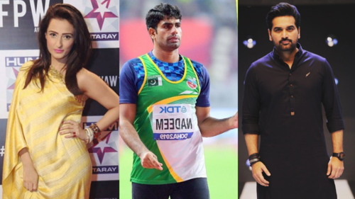 Celebrities cheer Arshad Nadeem on as he qualifies as a finalist in the Tokyo Olympics
