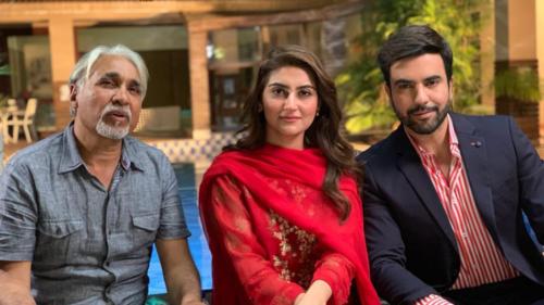 Junaid Khan and Hiba Bukhari are ready to entertain with their upcoming drama Inteha-e-Ishq