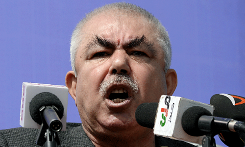 Abdul Rashid Dostum back in Afghanistan, to fight for besieged home