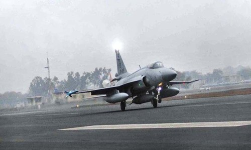 PAF jet crashes during routine training mission near Attock