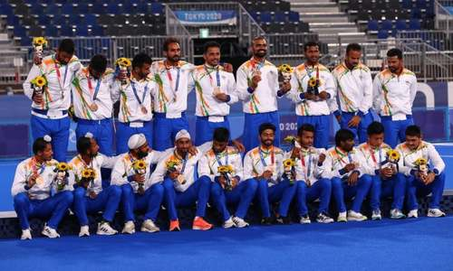 India savours men's 'golden bronze' medal in Olympic field hockey, hopes to dominate sport again