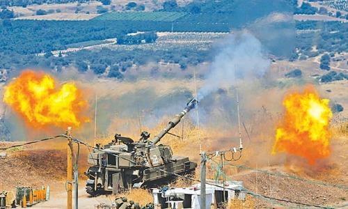 Hezbollah, Israel exchange fire in major escalation