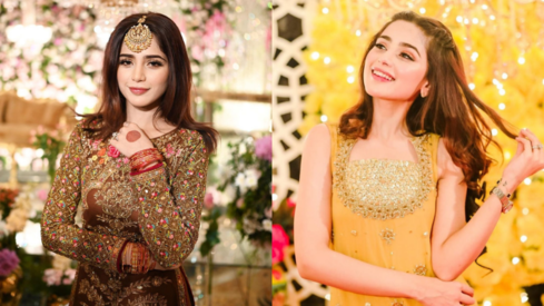 Aima Baig's glamorous outfits from her sister's wedding festivities are giving us serious style goals