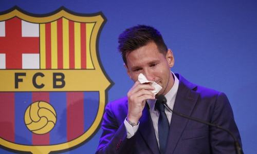 Tearful Messi confirms he is leaving Barcelona, in talks with PSG