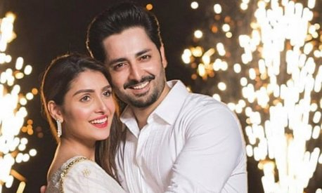 Ayeza Khan, Danish Taimoor celebrate their 7th wedding anniversary with regal splendour