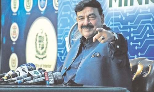 Israel, India behind terrorism in Pakistan, says Sheikh Rashid