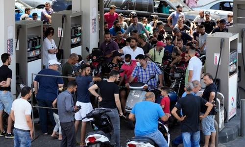 3 killed as brawls over scarce fuel in Lebanon turn deadly