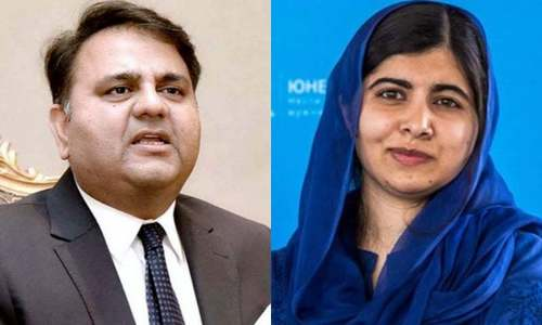In phone call with Malala, Fawad says Pakistan will support efforts for women's education in Afghanistan