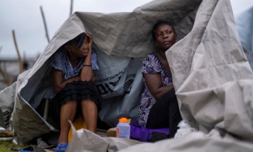 'We need food': Heavy rains lash Haiti earthquake survivors