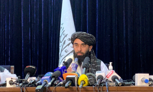 Taliban say they want peace, will respect women's rights under Islamic law