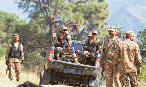 Soldier martyred in exchange of fire with terrorists at checkpost in South Waziristan: ISPR