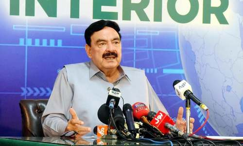 Cabinet to decide on recognising Taliban govt: Sheikh Rashid