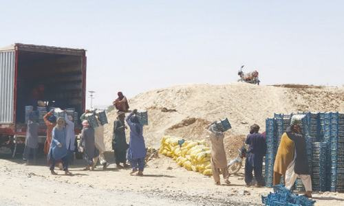 Trade with Afghanistan picks up after fall of Kabul