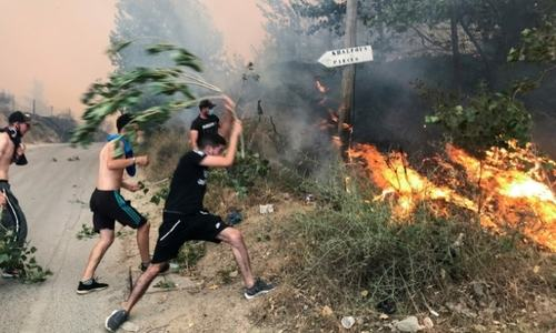 Algeria blames groups linked to Morocco, Israel for wildfires