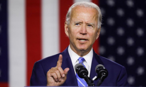 Biden says Taliban now in 'existential crisis'