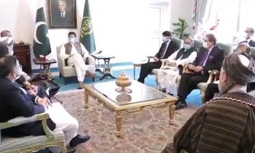Visiting Afghan leaders seek formation of an all-inclusive govt