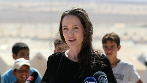 Angelina Jolie joins Instagram to share a message from a young Afghan girl