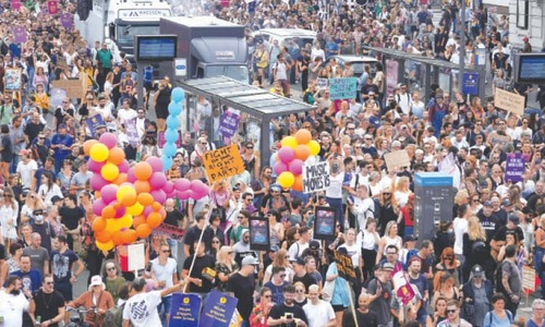 Marchers demand return of Dutch music festivals