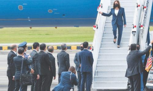 Kamala Harris begins Asia trip, to give reassurances amid Afghan debacle