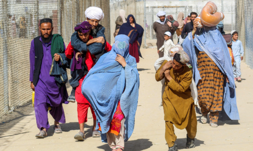 WHO says only has week of medical supplies left in Afghanistan