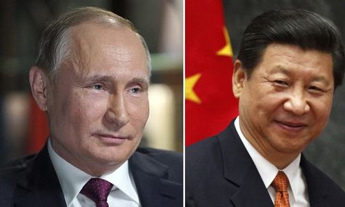 Putin, Xi agree to jointly combat Afghanistan 'threats'