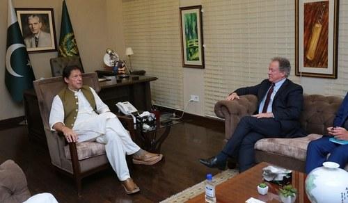 WFP chief thanks Pakistan for help in establishing 'humanitarian air bridge' to Afghanistan