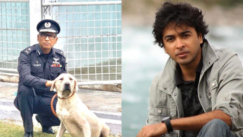 Singer Shehzad Roy honours hero dog Hawk for his services in the fight against drugs