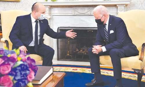 US wants peace for both Israelis, Palestinians: Biden