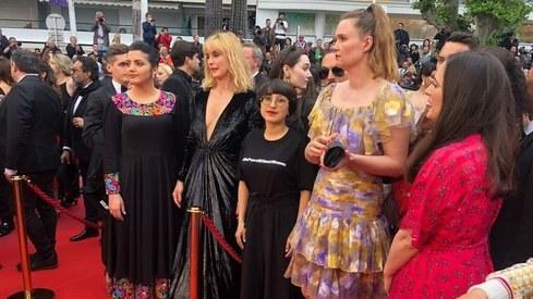 'I was lucky,' says Afghan filmmaker Shahrbanoo Sadat on fleeing Kabul