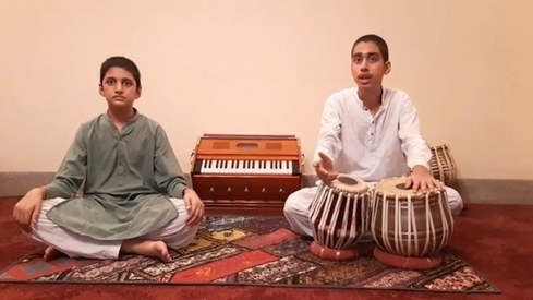 These teenage brothers have something to say to Pakistanis — save the sitar